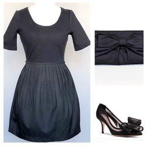 Kate Spade Saturday Black Tulip Dress Size 4